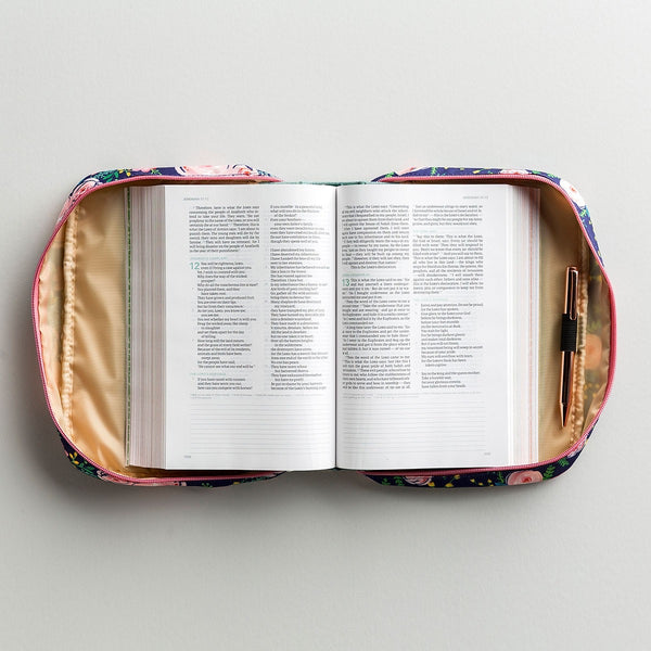 Bible Cover-Wild Posy