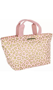 Blush Leopard Lunch Tote