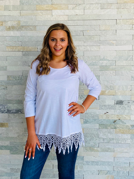 Lace Bliss Tunic