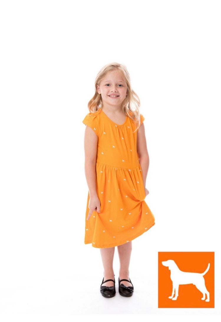 Girls Smokey Dress