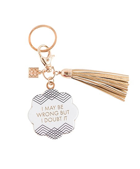 Mary Square keychain