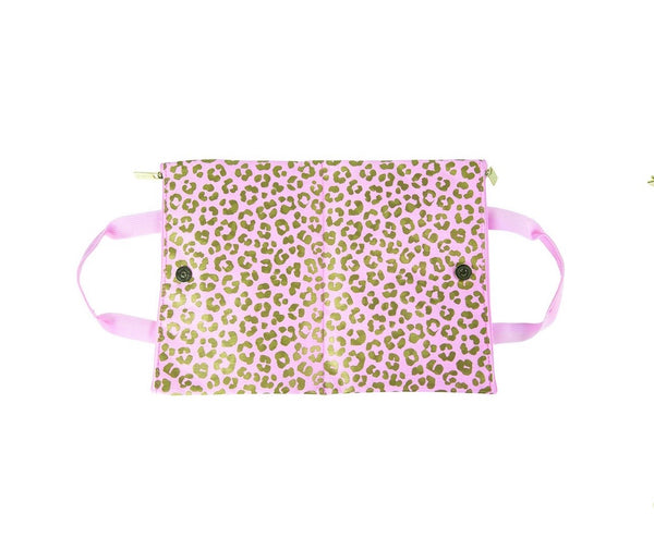 All the things - blush leopard bag