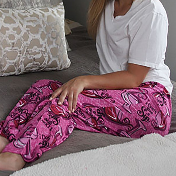 Women's Wine Lounge Pants