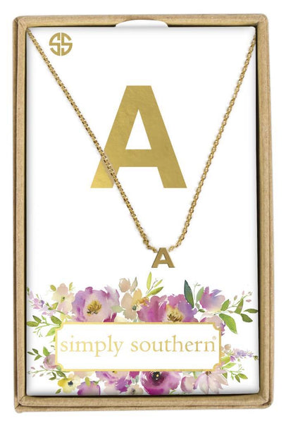 Simply Southern Initial Necklace