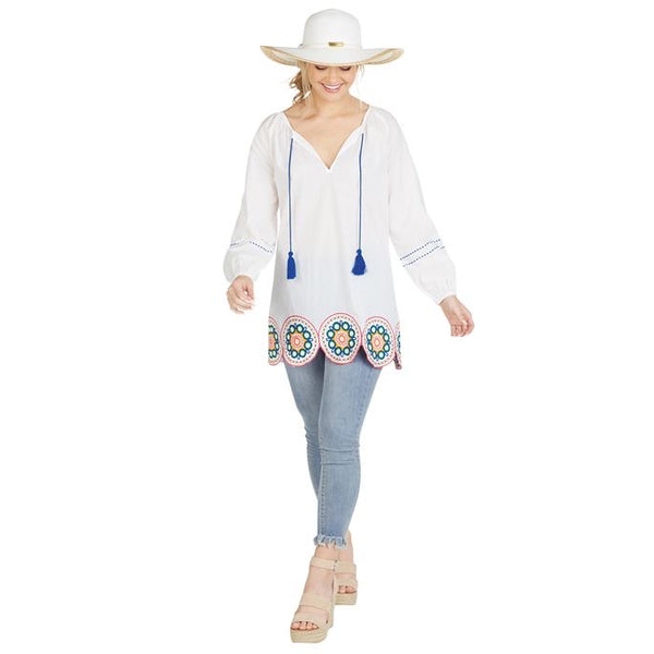 Monaco Embroidered Tunic