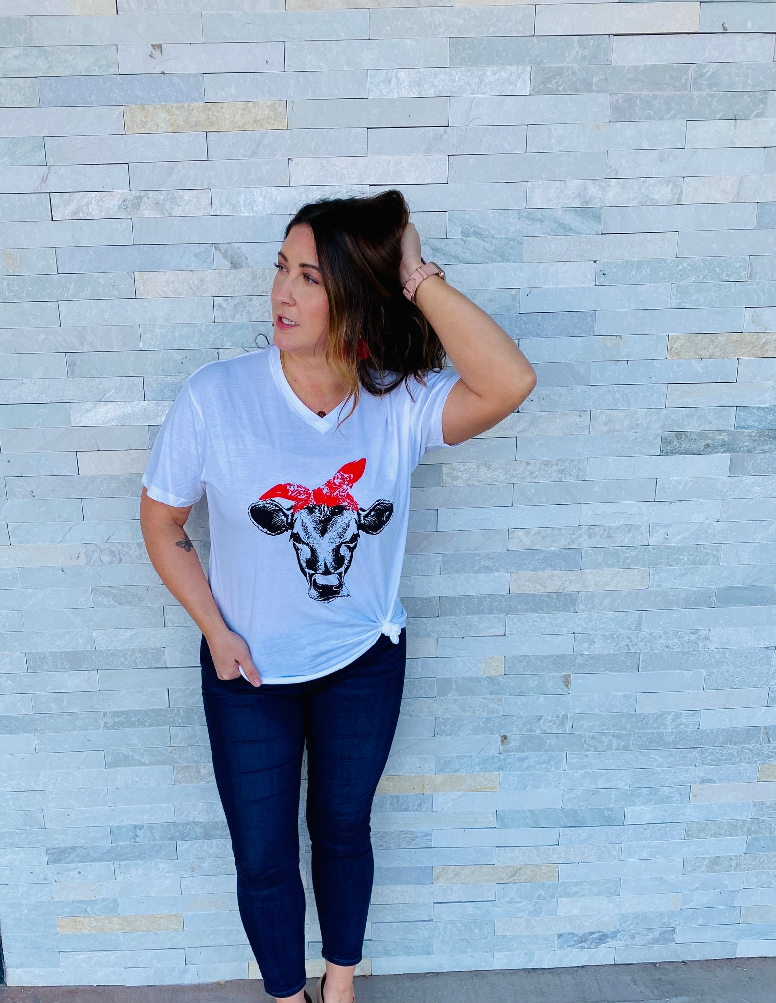 Cows Have More Fun Tee