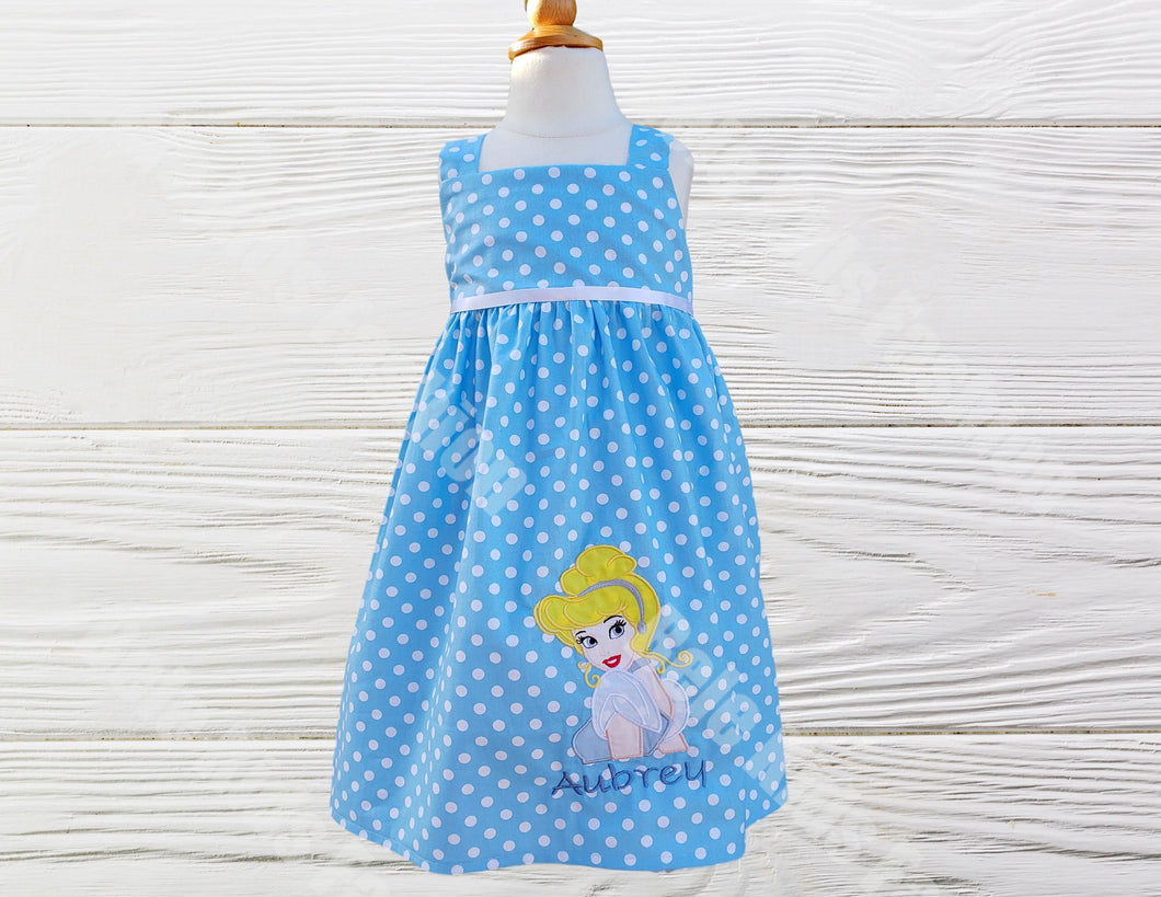 Cinderella tank top birthday dress. Girls  Birthday dress,
