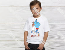 Load image into Gallery viewer, bele-kids-fashions,Boys Aladdin birthday shirt.