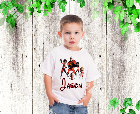 Boys The Incredibles shirt Boys Disney Incredibles birthday shirt