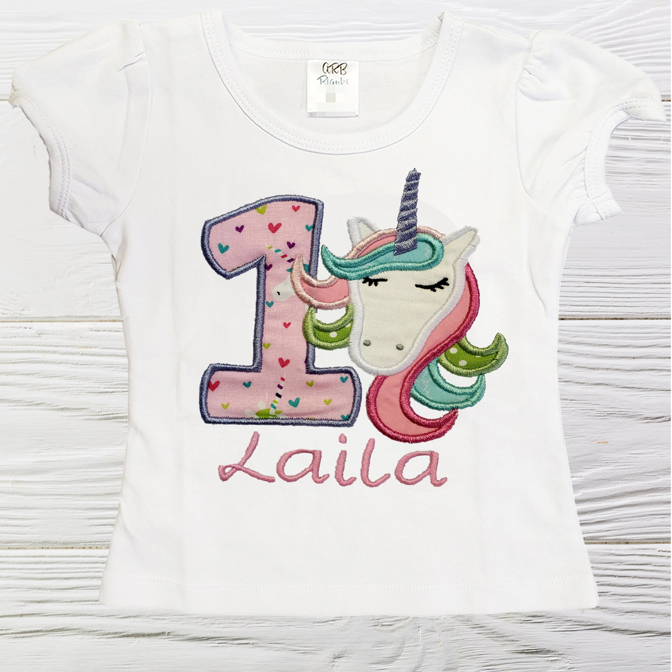 Unicorn girl shirt  birthday unicorn shirt  Custom shirt  Personalized  unicorn shirt