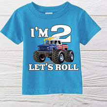 Load image into Gallery viewer, BOYS BIRTHDAY SHIRT - Boys shirt -  Personalized shirts - Little boys birthday shirts - Toddler shirts - Boys shirts