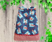 Load image into Gallery viewer, Cat in the Hat dress, Dr Seuss  birthday dress Toddler  girl Dr Seuss  dress