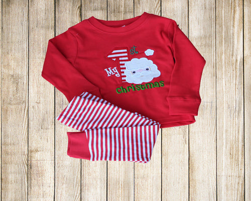 Christmas pajamas Baby pajamas first  Christmas pajamas Girls Boys  pajamas