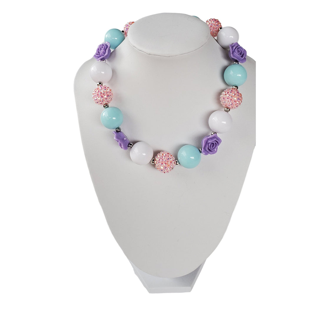 bele-kids-fashions,Chunky Bubble Gum Necklace for  girls and toddlers..