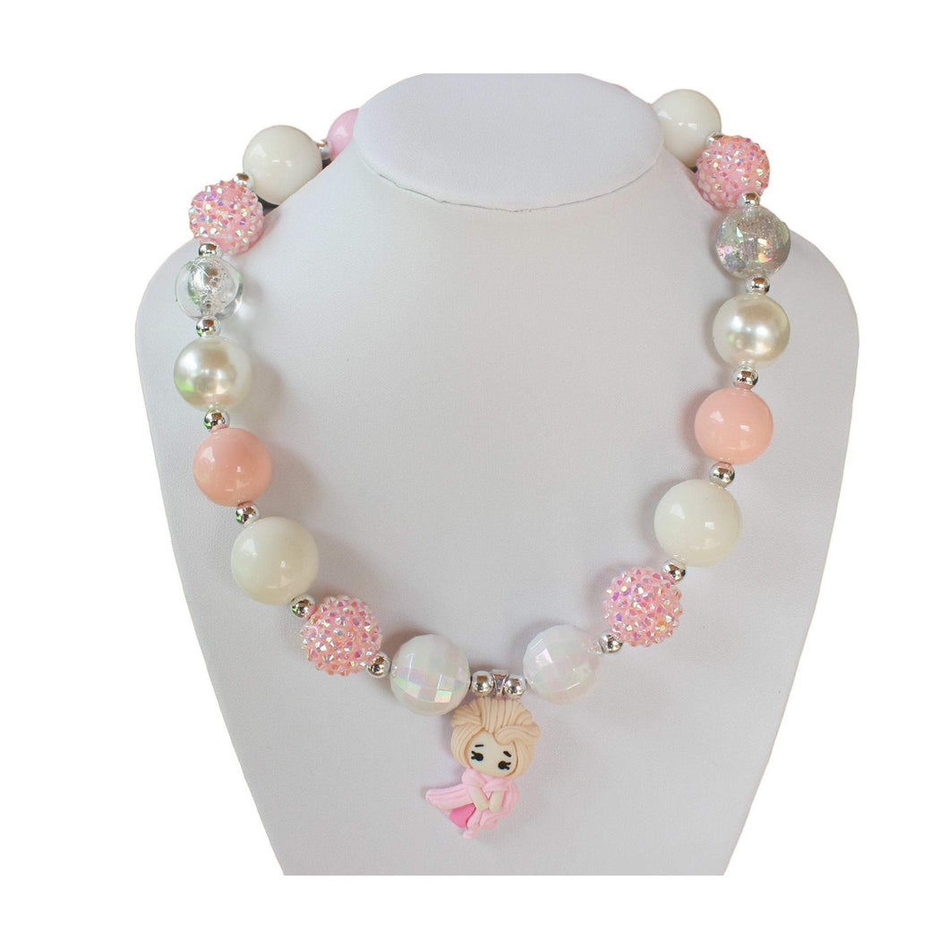 bele-kids-fashions,Chunky Bubble Gum Necklace for young girls and toddlers 123.