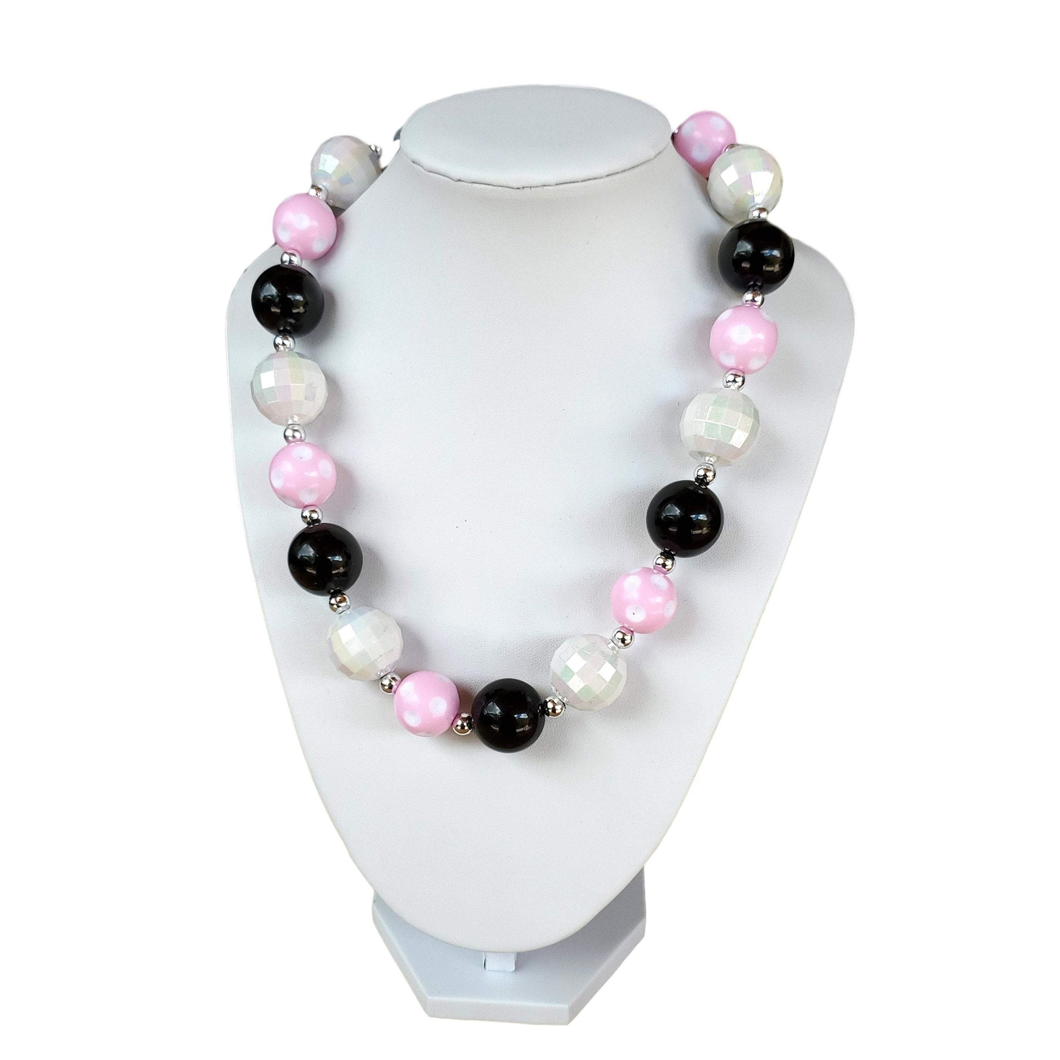 Chunky Bubble Gum Necklace for young girls and toddlers.