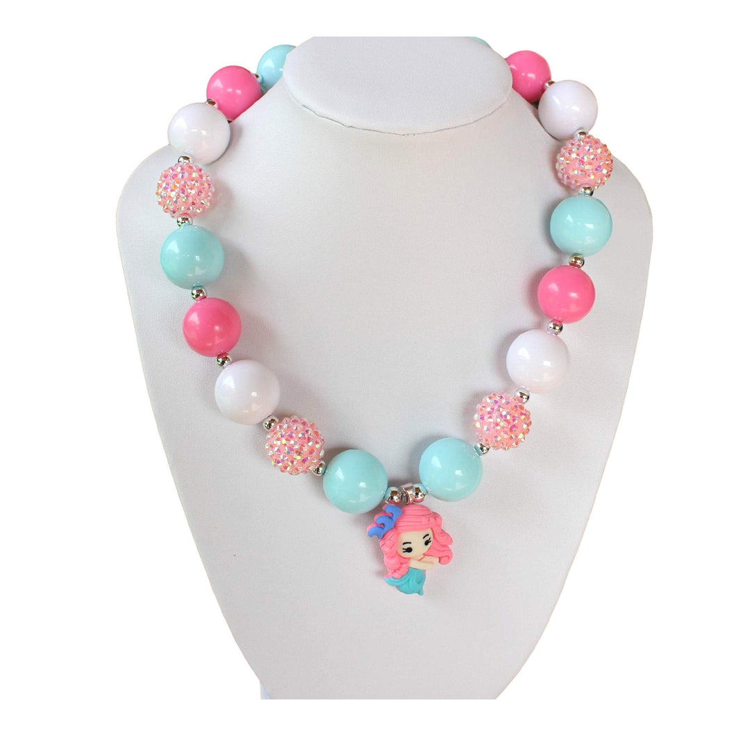 bele-kids-fashions,Chunky Bubble Gum Necklace for young girls and toddlers.