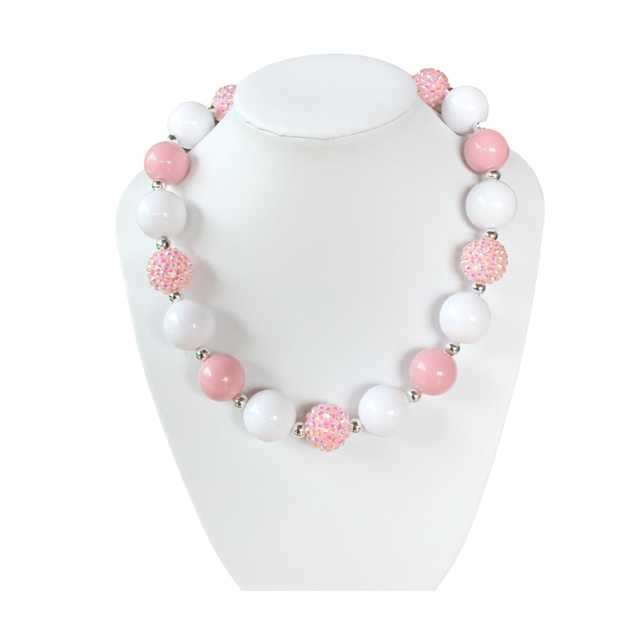 Chunky Bubble Gum Necklace for young girls and toddlers