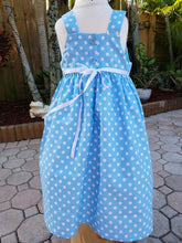 Load image into Gallery viewer, CINDERELLA BIRTHDAY DRESS. Girls  Birthday dress,  Baby Girls Cinderella dress  Tank top dress