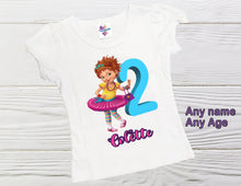 Load image into Gallery viewer, Fancy  birthday shirt Birthday personalized  girl shirt Fancy Nancy shirt Toddler Fancy shirt