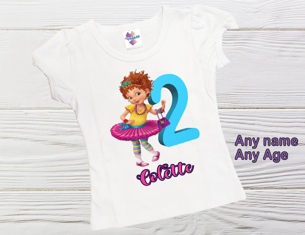 Fancy  birthday shirt Birthday personalized  girl shirt Fancy Nancy shirt Toddler Fancy shirt