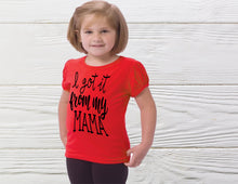 Load image into Gallery viewer, Girls  Shirt Toddler shirt Custom girl shirts