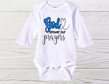 Load image into Gallery viewer, God promises -  Newborn onesie,- Infertility onesie - Baby Onesie - Cute Baby Onesie - Shower girl - Coming Home onesie