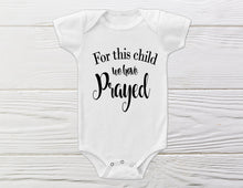 Load image into Gallery viewer, God promises -  Newborn onesie,- Infertility onesie - Baby Onesie - Cute Baby Onesie - Shower girt - Coming Home onesie