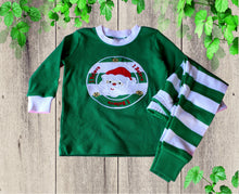Load image into Gallery viewer, I believe Christmas pajamas Baby pajamas  Girls Christmas pajamas Toddler Christmas  pajamas