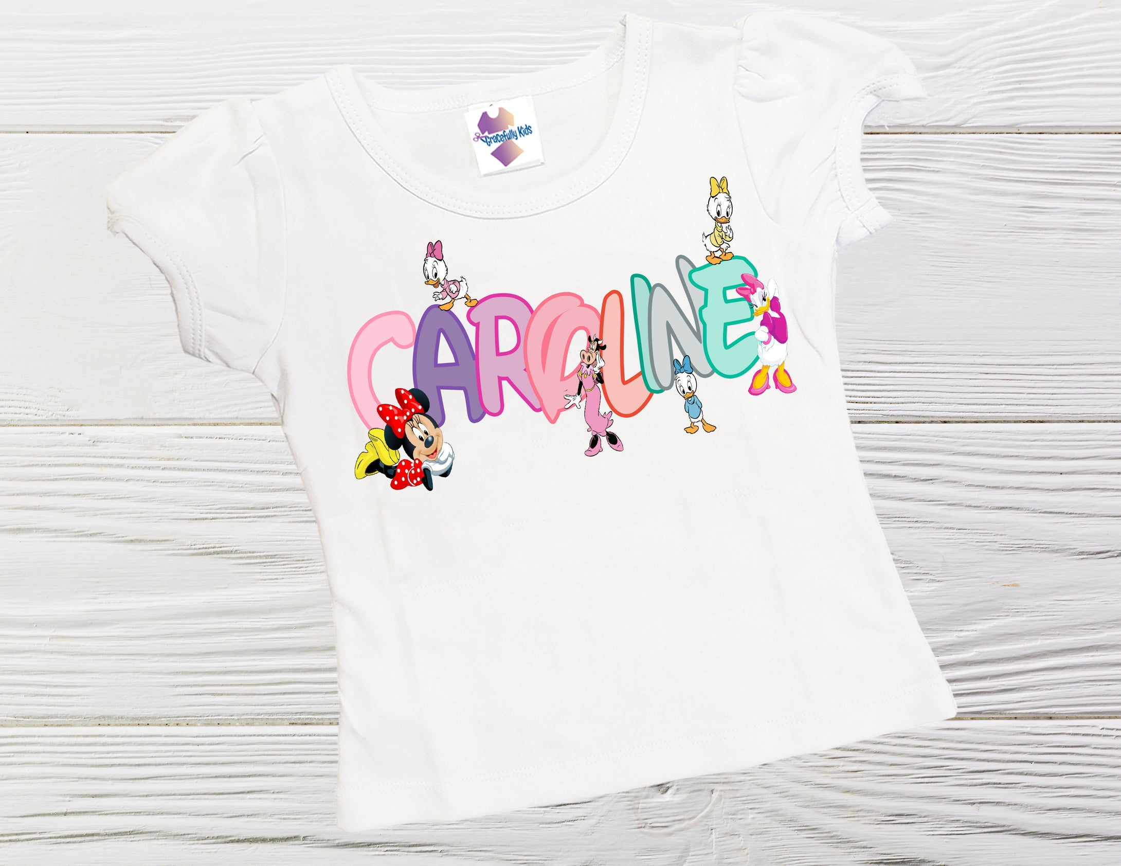 Personalized birthday shirt  - Minnie Mickey and and  friends  shirts - Minnie Mickey girls shirts