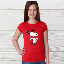 Load image into Gallery viewer, Happy Snoopy Girls Shirt