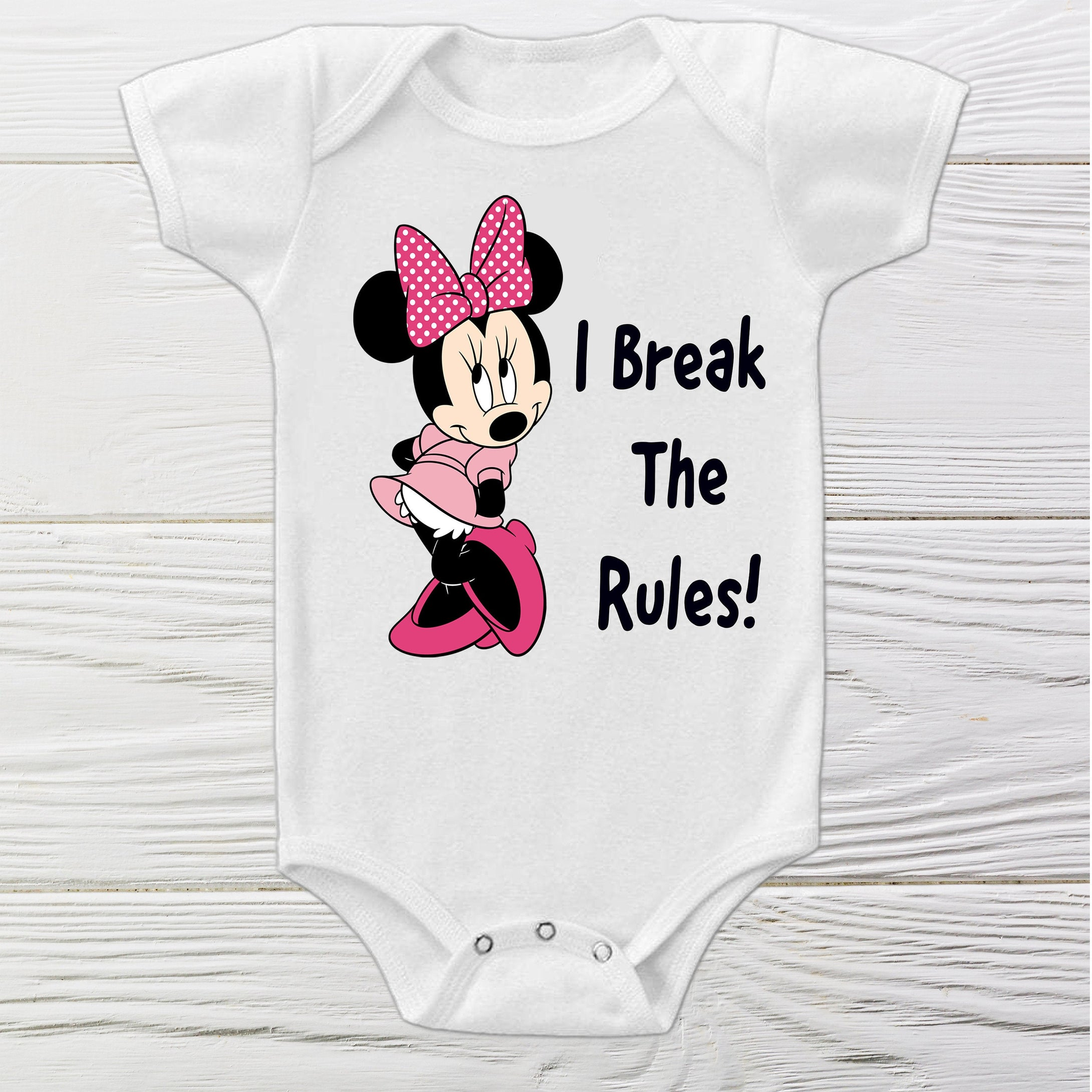 BABY Minnie onesie - Minnie funny onesie  - Toddler Minnie onesie - Custom Onesie
