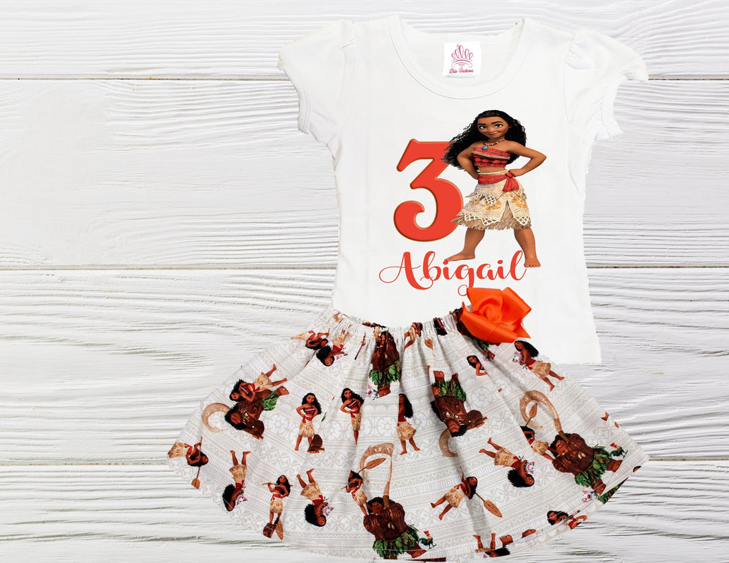 Moana birthday outfit  Moana dress Disney Moana dress Baby Toddler Moana birthday dress