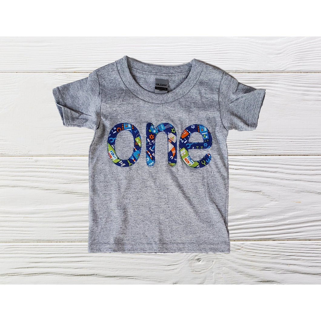 One boys birthday shirt  Boys personalized shirts Boys shirts