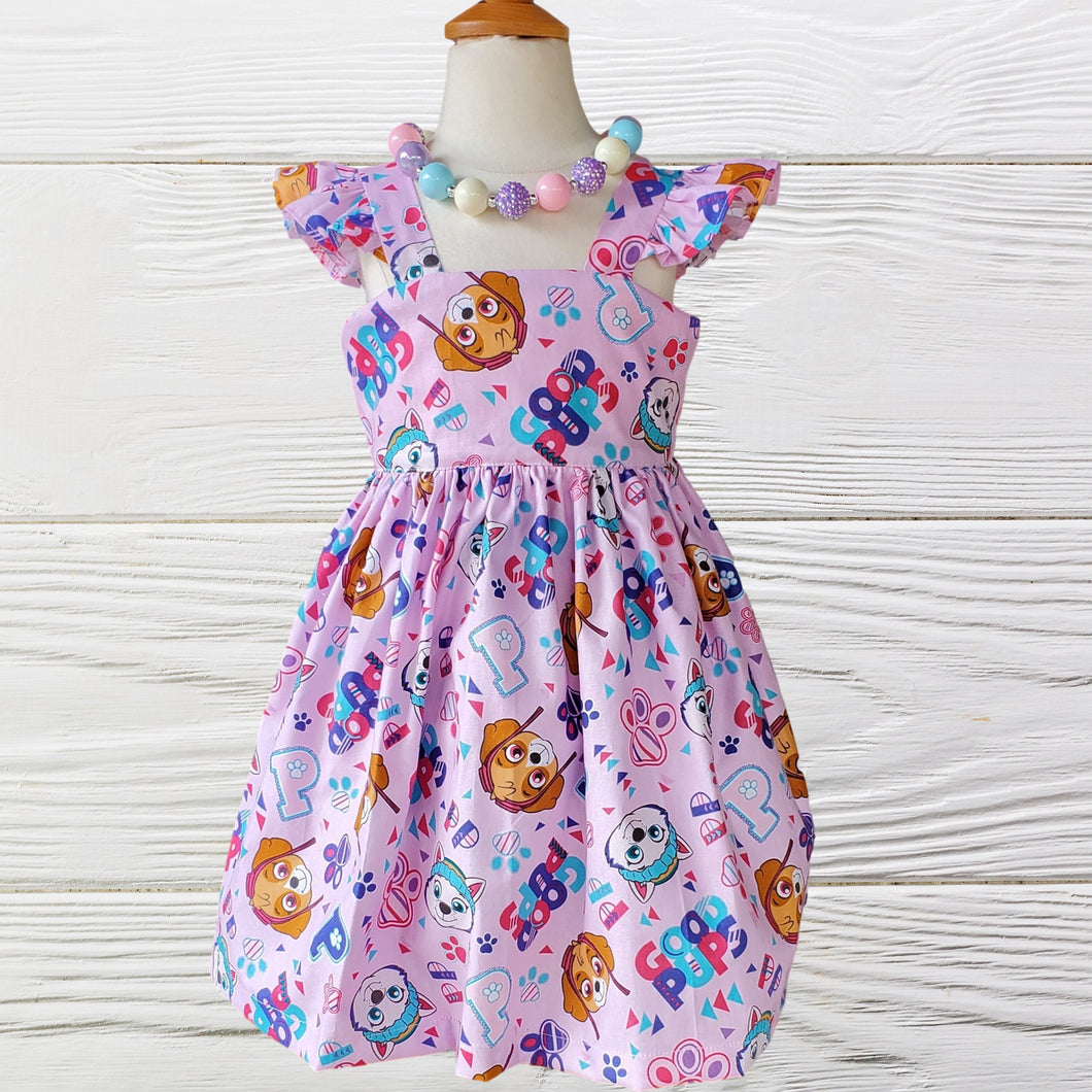 PAW PATROL DRESS - Baby Skye  Dress - Baby Girl Clothes -Skye birthday dress - Girl Dress - Toddler Skye Dress - Paw Patrol birthday
