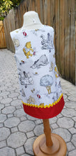 Load image into Gallery viewer, Pooh birthday dress Toddler  Pooh dress Pooh jumper dress