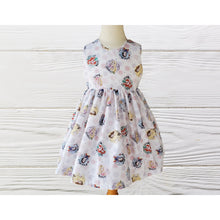 Load image into Gallery viewer, PRINCESS  PARTY DRESS - Cute  dress - Girls Birthday dress - Baby  Birthday Princess Party Dress - Princess dress - Princess girls dress -