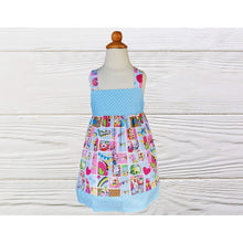 Load image into Gallery viewer, Shopkins birthday dress  Girl Shopkins dress Girl dress Birthday dress