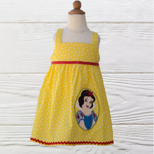 Load image into Gallery viewer, SNOW WHITE Birthday dress Personalized dress Snow White dress Toddler 1st birthday dress Snow White  dress