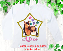 Load image into Gallery viewer, Spirit Free birthday shirt Lucky birthday shirt Girls personalized shirts