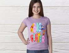 Load image into Gallery viewer, Winnie the Pooh and Friends Big sister shirt Personalized Pooh shirt custom Pooh bear big sister