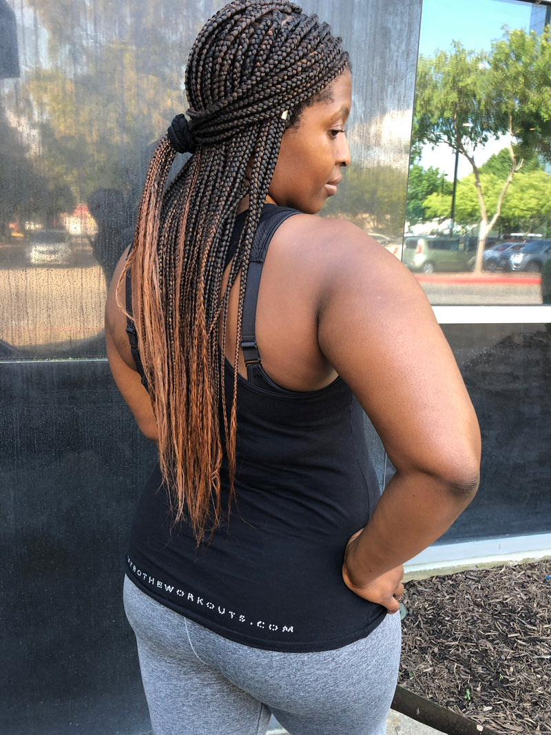 FFF Tank Top ( limited edition with extra bling on the booty)