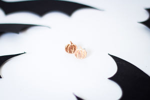 Hey There Pumpkin Studs