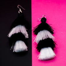 Load image into Gallery viewer, SO STRONG Tassel Earrings