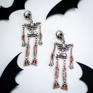 Spooky Sparkly Skeletons