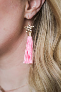 Shooting Star Fringe Earrings