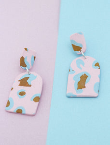 BE BRAVE Clay Drop Earrings