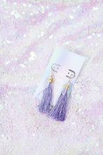 Load image into Gallery viewer, Rare Quartz Fringe Earrings