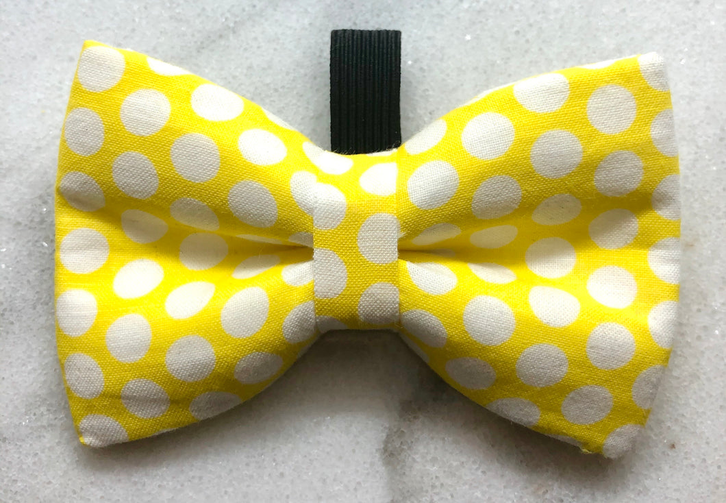 Yellow Polka Dot Crosstie