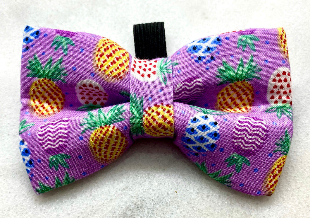 Pineapples on Purple